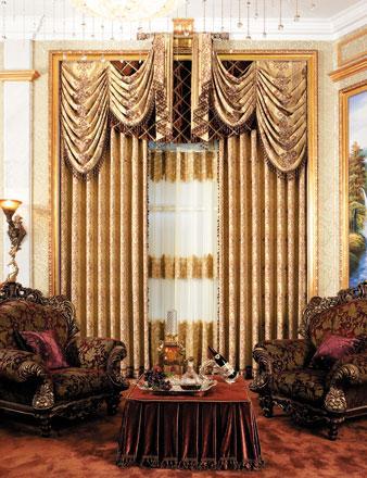 2017流行的欧式窗帘